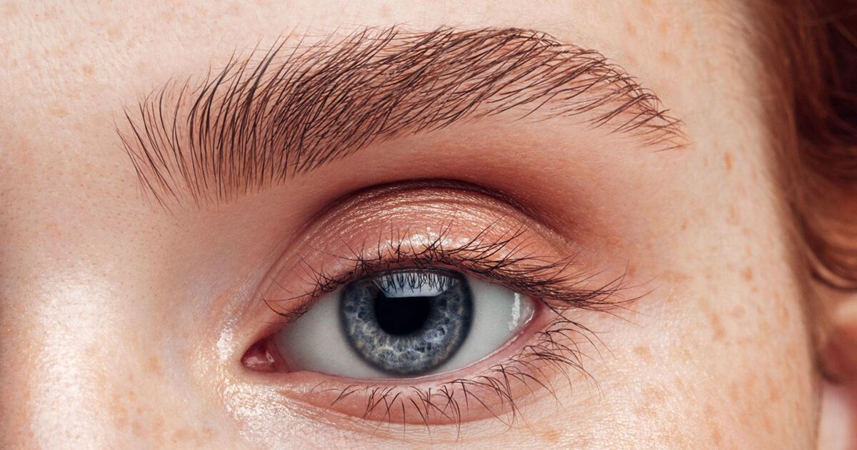 Øvre og nedre øjenlåg