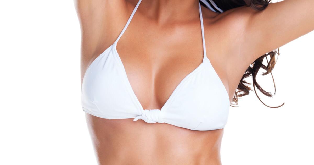 Brystforstørrelse med implantat
